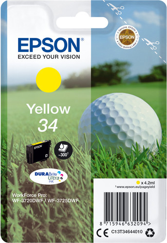 Epson 34 Cartridge Geel Main Image