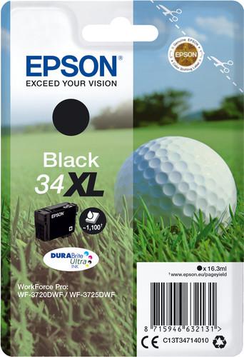 Epson 34XL Cartridge Black Main Image