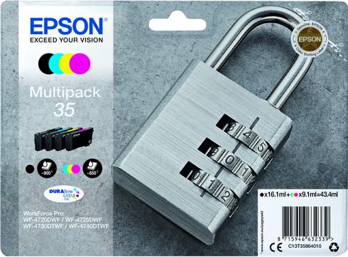 Epson 35 Cartridges Combo Pack Main Image