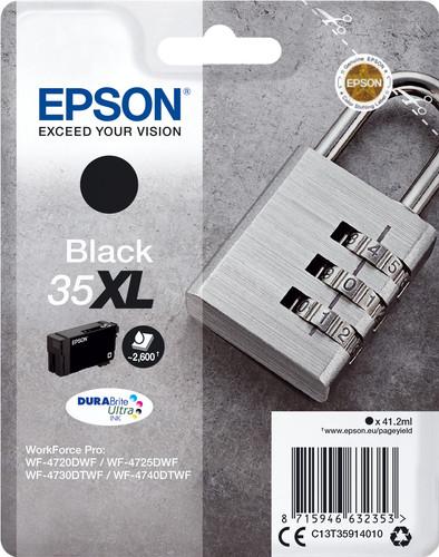 Epson 35XL Cartridge Black Main Image