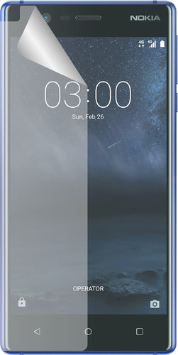 Azuri Nokia 3 screen protector Plastic Duo Pack Main Image