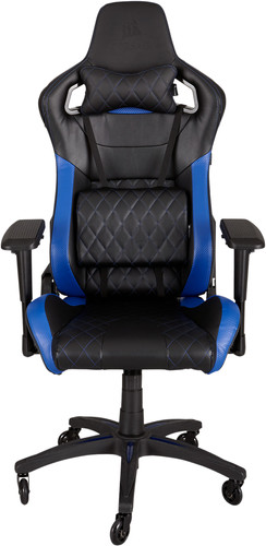 Corsair T1 Race Gaming Chair Zwart/ Blauw Main Image