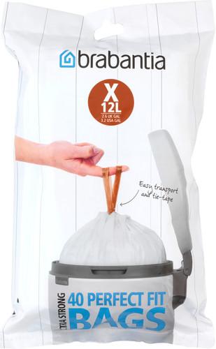 Brabantia Garbage bags Code X - 12 Liter (40 pieces) Main Image