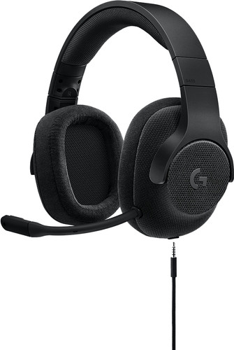 Logitech G433 7.1 Surround Sound Gaming Headset Zwart Main Image