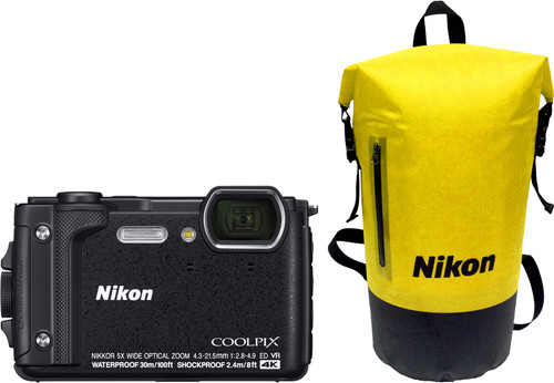 Nikon Coolpix W300 Black Main Image