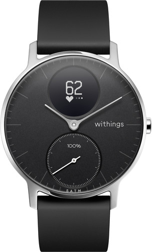 Withings Steel HR Zilver/Zwart 36 mm Main Image