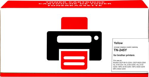 Pixeljet TN-245 Geel voor Brother printers Main Image