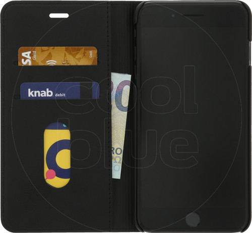 Azuri Wallet Stand Apple iPhone 7 Plus/8 Plus Book Case Zwart Main Image