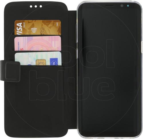 Azuri Wallet Magnetic Samsung Galaxy S8 Plus Book Case Black Main Image