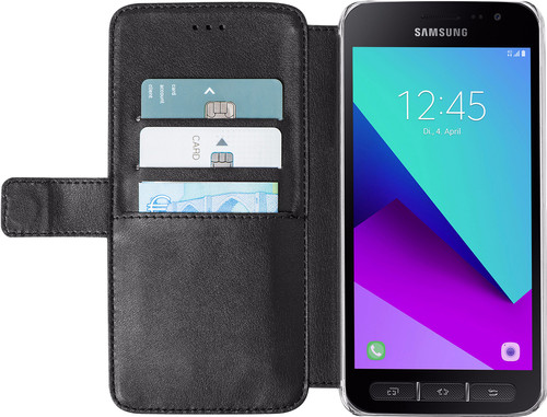 Azuri Wallet Magnetic Samsung Galaxy Xcover 4/4s Book Case Black Main Image
