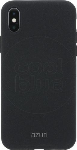 Azuri Flexible Sand Apple iPhone X Back Cover Black Main Image