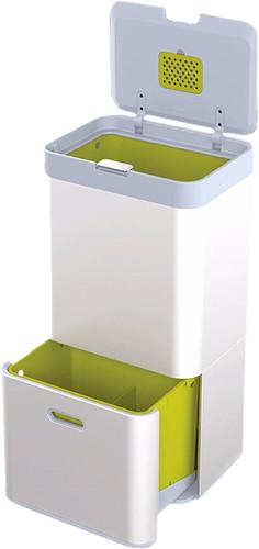 Joseph Joseph Intelligent Waste Totem 60 Liter Zilver Main Image