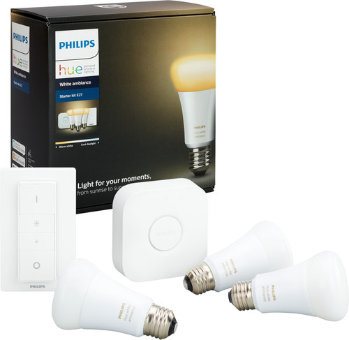 Philips Hue White Ambiance Starter Pack met Dimmer Main Image