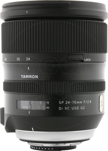 Tamron SP 24-70mm F/2.8 Di VC USD G2 Nikon Main Image