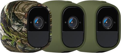 Arlo Pro Skin 3-Pack Camouflage, Green Main Image