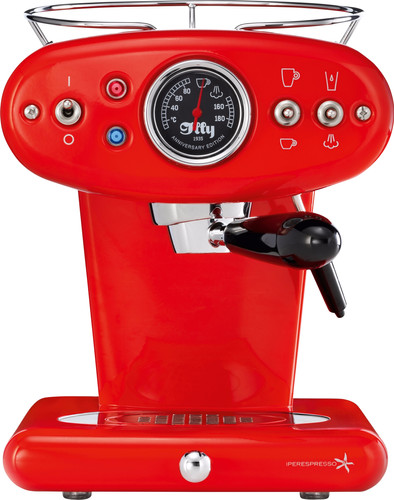 Illy X1 Anniversary Espresso & Coffee Rood Main Image