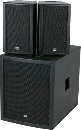 DAP-Audio Club Mate II (per pair with subwoofer) Main Image