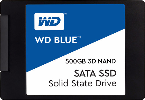 WD Blue 3D NAND 2,5 inch 500GB Main Image