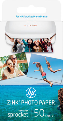 HP ZINK Photo Paper for Sprocket 50 sheets Main Image