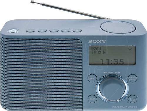 Sony XDR-S61D Blue Main Image