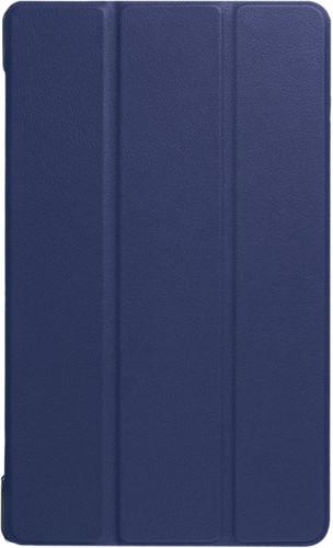 Just in Case Lenovo Tab 4 8 Plus Smart Tri-Fold Case Blauw Main Image