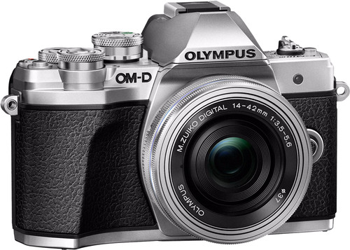 Olympus OM-D E-M10 Mark III Body Zilver + 14-42mm Main Image
