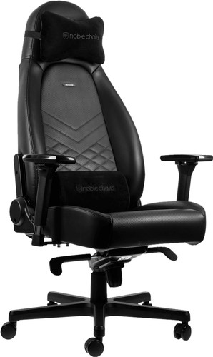 noblechairs ICON Gaming Chair Black/White Main Image