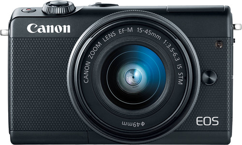Canon EOS M100 Black + 15-45mm IS STM Main Image
