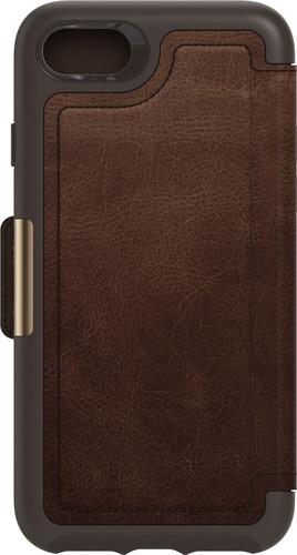 Otterbox Strada Apple iPhone SE 2 / 8 / 7 / 6s / 6 Book Case Leer Bruin Main Image