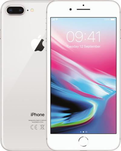 Apple iPhone 8 Plus 64GB Zilver Main Image