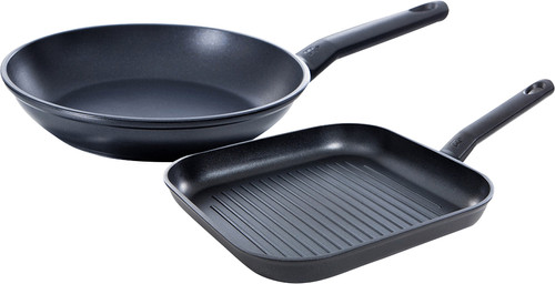 BK Easy Induction Frying Pan and Grill Pan 28+26cm Main Image