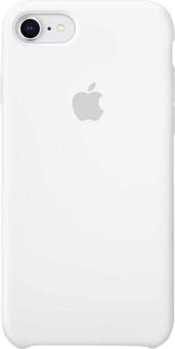 Apple iPhone 7/8 Silicone Back Cover White Main Image