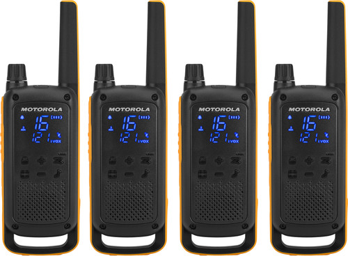 Motorola Talkabout T82 EXTREME Quad Pack Main Image