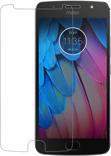Azuri Motorola Moto G5S Screen Protector Tempered Glass Duo Pack Main Image