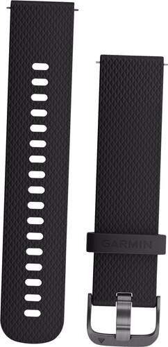 Garmin Vivoactive 3 Silicone Watch Strap S Black/Gray Main Image