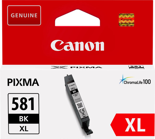 Canon CLI-581XL Cartridge Black Main Image