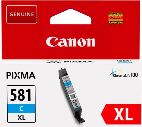 Canon CLI-581XL Cartridge Cyan Main Image
