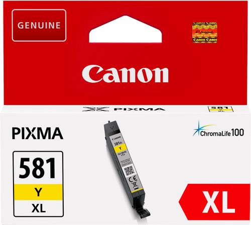 Canon CLI-581XL Cartridge Yellow Main Image