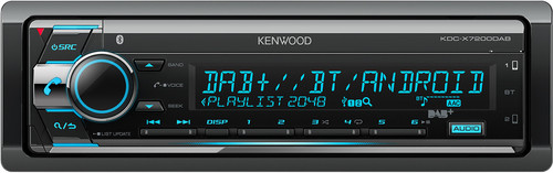 KENWOOD KDC-X7200DAB Main Image