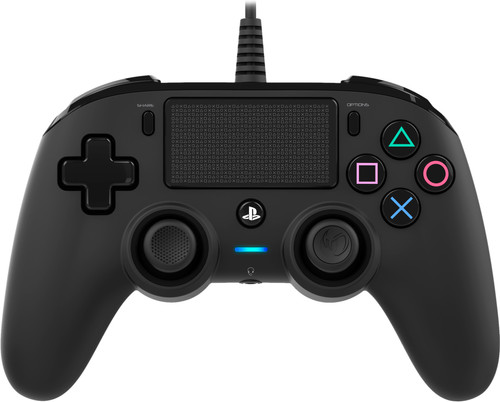 Nacon PS4 Official Wired Controller Zwart Main Image