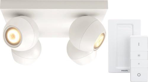 Philips Hue Buckram 4-Spot Wit met Dimmer Main Image