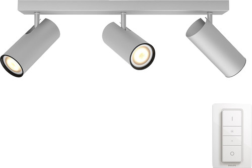 Philips Hue Buratto 3-Spot Gray with Dimmer Main Image