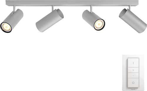 Philips Hue Buratto 4-Spot Gray with Dimmer Main Image