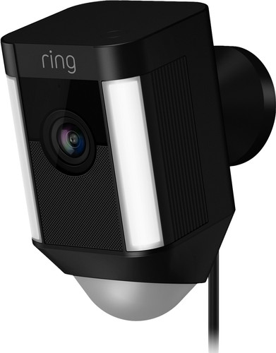 Ring Spotlight Cam Wired Zwart Main Image