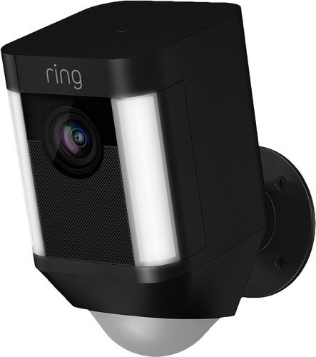Ring Spotlight Cam Battery Zwart Main Image
