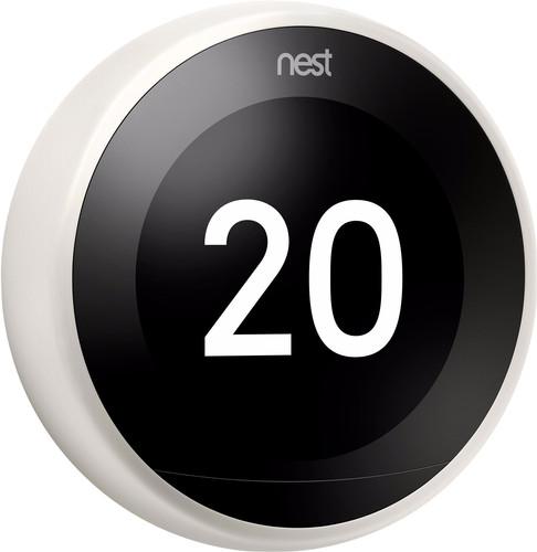 Google Nest Learning Thermostat V3 Premium White Main Image
