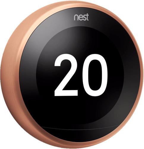 Google Nest Learning Thermostat V3 Premium Koper Main Image