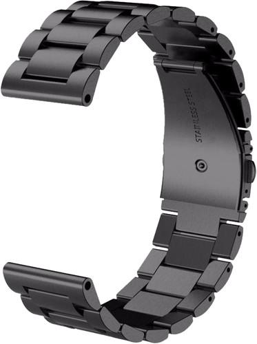 Just in Case Samsung Gear Sport Stainless Steel Watch Strap Black Main Image