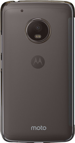 Motorola Moto G5 Touch Book Case Donkergrijs Main Image