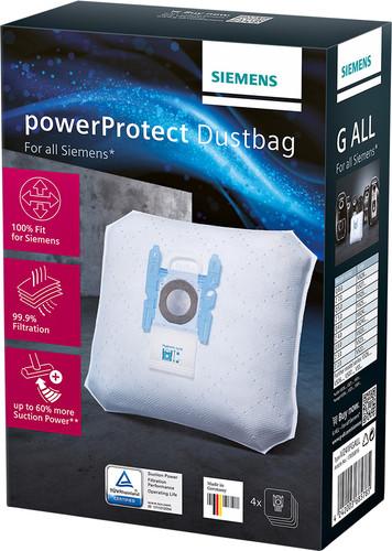 Siemens vacuum cleaner bag fleece type G All Main Image